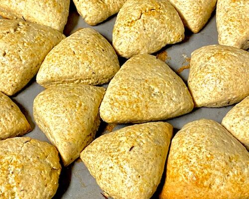 Spiced scones